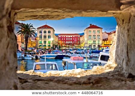 Prokurative square in city of Split Stock photo © xbrchx