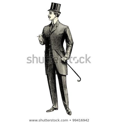 男 衣装 実例 ファッション 背景 芸術 ストックフォト © colematt