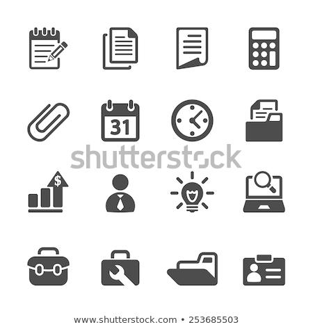 vector set of toolbox stock photo © olllikeballoon