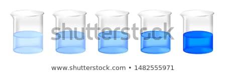 Ayarlamak sıvı kimyager örnek örnek arka plan Stok fotoğraf © bluering