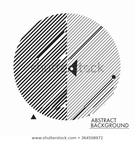 Absztrakt modern terv elemek minimális tipográfiai Stock fotó © ussr