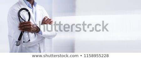 Gezondheidszorg medische stethoscoop uitrusting voorgrond Stockfoto © Freedomz