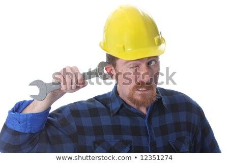 construction worker handle double wrench  stock photo © vladacanon