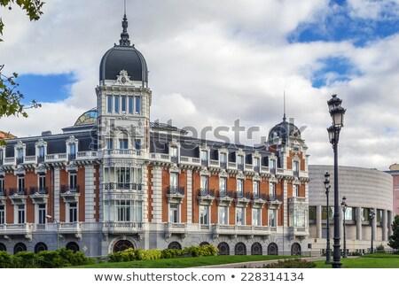 Мадрид испанский дома парламент улице путешествия Сток-фото © borisb17