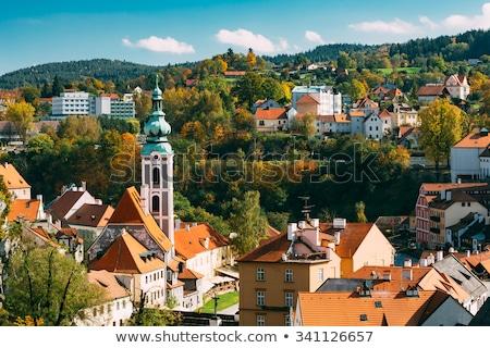kerk · Tsjechische · Republiek · reizen · stedelijke · architectuur · Europa - stockfoto © borisb17