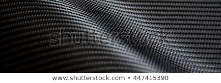 Schwarz Kohlefaser Textur Muster Licht Design Stock foto © SArts