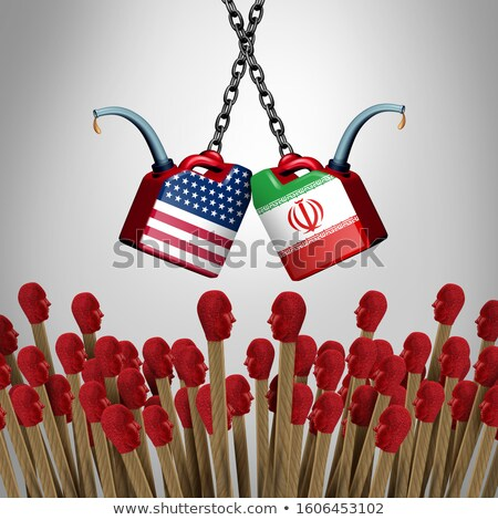 Iran États-Unis crise iranien guerre Photo stock © Lightsource