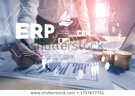 Enterprise Resource Management Stock photo © Mazirama