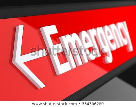 Illusztráció sürgősségi ellátás lány orvos egészség törődés Stock fotó © adrenalina