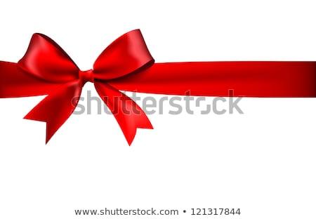 Brillante arco blanco resumen presente Foto stock © posterize