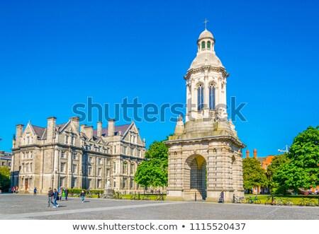 Főiskola Dublin Írország harang torony egy Stock fotó © borisb17