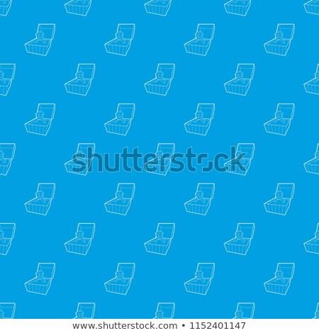 Diamant trouwring patroon vector naadloos herhalen Stockfoto © natali_brill