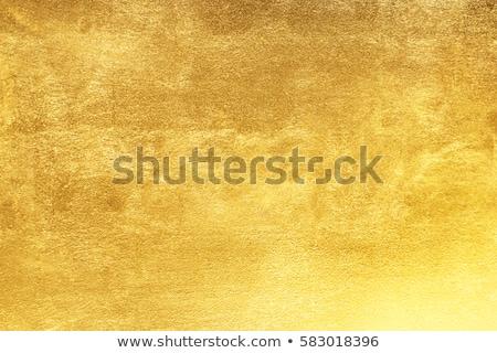 Altın doku vektör imzalamak boyama çelik etiket Stok fotoğraf © vtorous