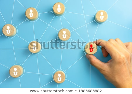 Organisational Hierarchy Stock photo © vectomart