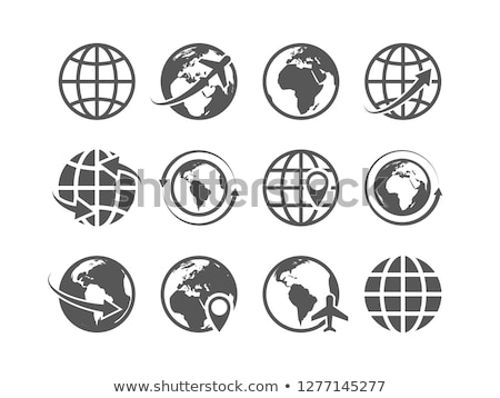 sphere from tourist and eco icons stock photo © adamson