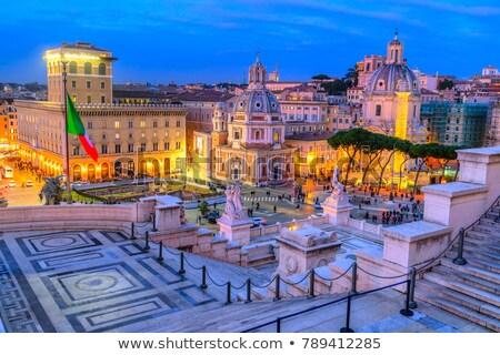 Traian column in Rome, Italy Stock photo © vladacanon