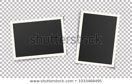 ヴィンテージ · インスタント · 写真 · フレーム · レトロな - ストックフォト © spectral