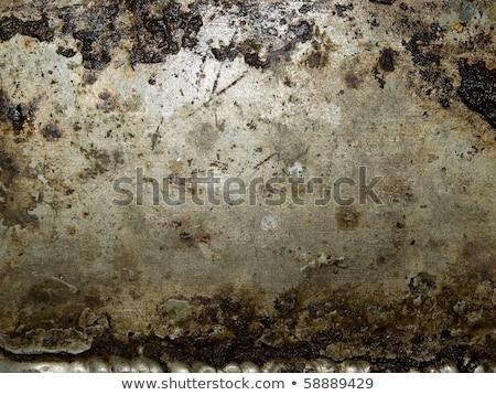 Resumen sucio superficie de metal primer plano construcción pared Foto stock © H2O