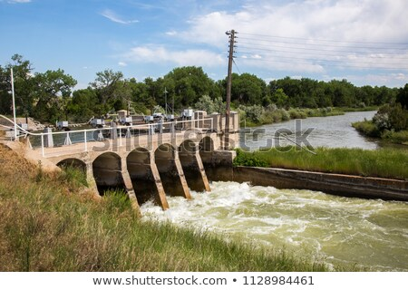 North Platte River in Wyoming Stock photo © PixelsAway