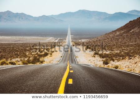 Mountain Pass in Arizona Stock photo © pixelsnap