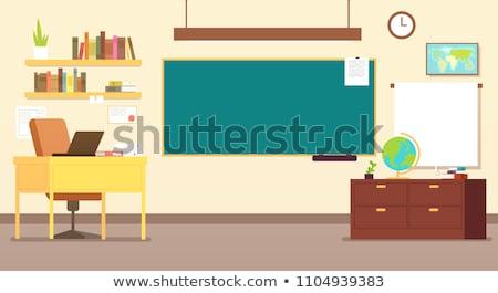 clasă · tabla · tablă · cadru · izolat · verde - imagine de stoc © spectrum7