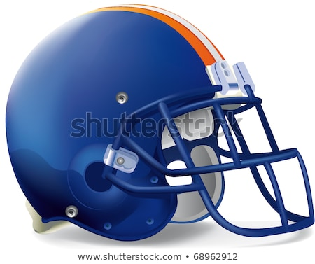 синий оранжевый строительство работник голову Сток-фото © njaj