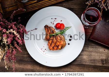 tuna steak bbq stock photo © franky242