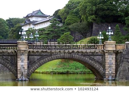 Токио королевский дворец Солнечный зима день Сток-фото © 3523studio