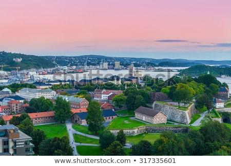 Осло · Норвегия · фары · движения · признаков · остановки - Сток-фото © phbcz