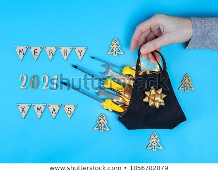 三角形 配管工 ツール アジャスタブル 巻き尺 ストックフォト © soonwh74