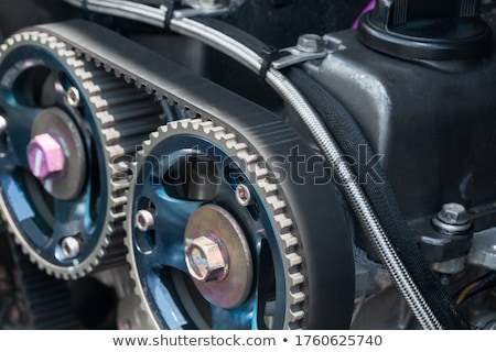Stock photo: Motorsport background