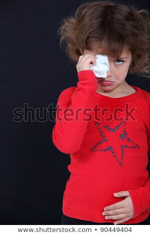 Crying child suffering from a stomach ache Stock photo © photography33