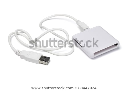 Universal card reader, isolated on a white background Stock photo © shutswis