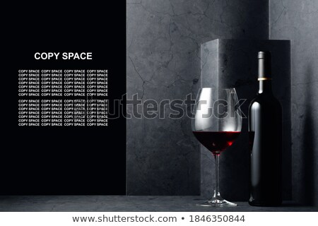 empty wineglass with clipping path stock photo © winterling