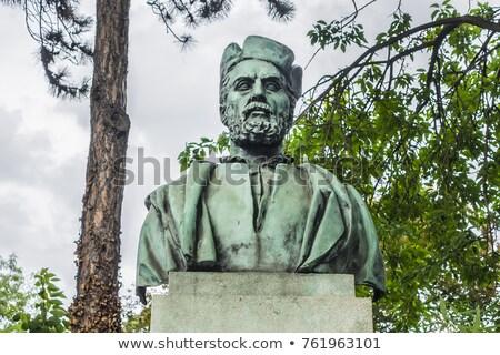 Jacques Cartier Statue Stock photo © Bertl123