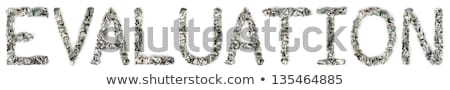 Evaluation - Crimped 100$ Bills Stock photo © eldadcarin