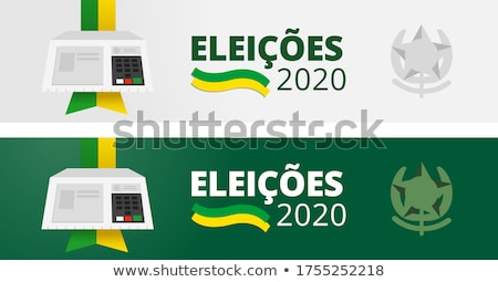 Ballot box Brazil Stock photo © Ustofre9