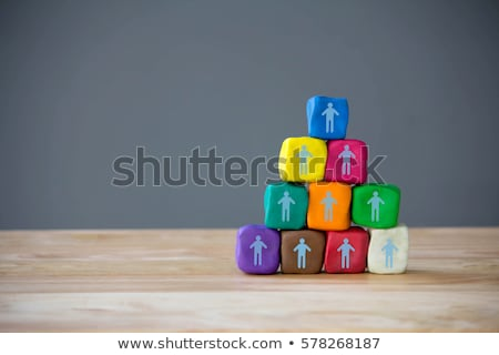 Business Concept. Team Building Sign. Stock photo © tashatuvango