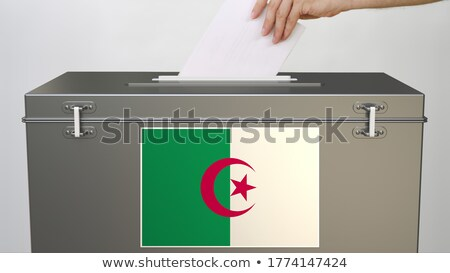 Ballot box Algeria Stock photo © Ustofre9
