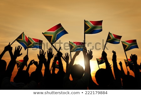 Happy South African Man Stock photo © danienel