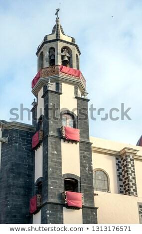 Koepel la kerk stad vierkante Stockfoto © rhamm