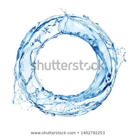 aqua twirl Stock photo © ArenaCreative