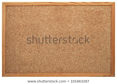 Cork Bulletin or Message Board. Stock photo © tashatuvango