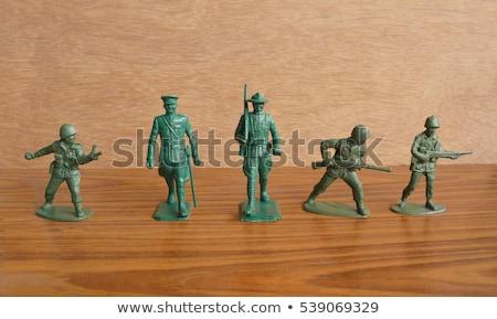 Plastic Toy Soldier Stock photo © Marfot