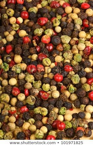 Cztery pory roku pieprz kopia przestrzeń żywności Zdjęcia stock © aladin66
