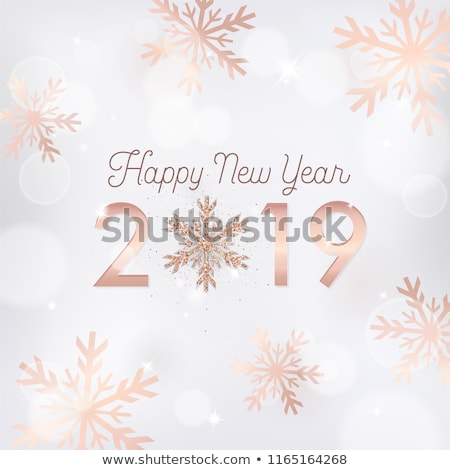 輝かしい クリスマス スノーフレーク 花 ファッション ガラス ストックフォト © carodi