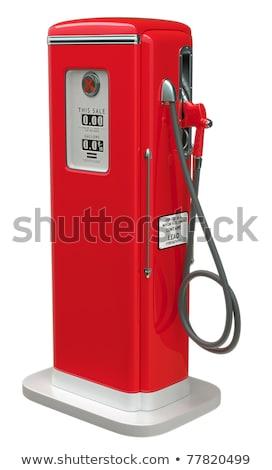 Buse côté rétro illustration gaz Photo stock © patrimonio