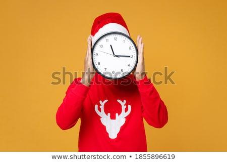 christmas rush stock photo © lightsource
