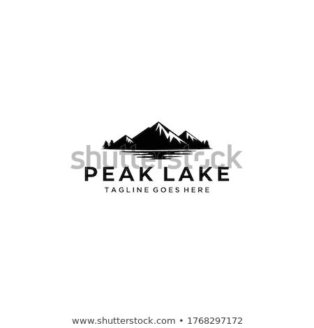 ストックフォト: 湖 · 海 · ビーチ · 風景 · 旅行 · ボート