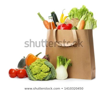 Generi alimentari isolato alimentare frutta shopping mercato Foto d'archivio © M-studio
